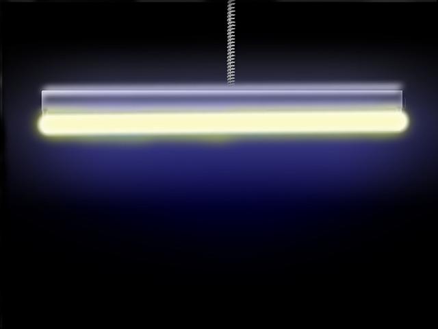 neónové svetlo