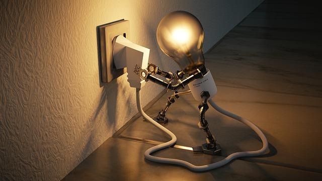 oživlá žárovka
