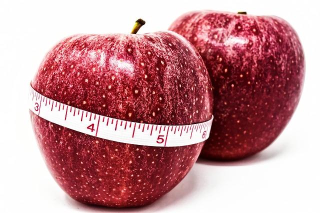 metr na jablku